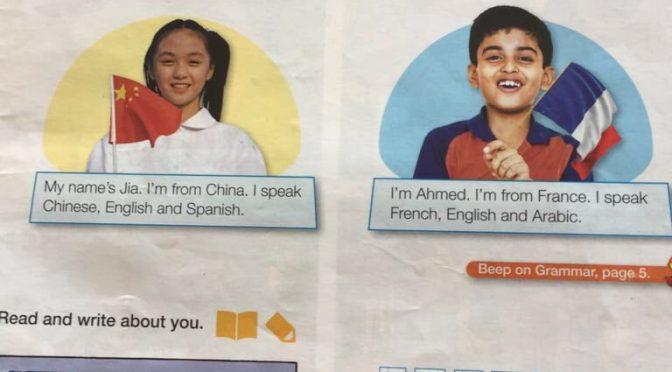 Secondo i libri di testo i francesi sono già arabi – FOTO