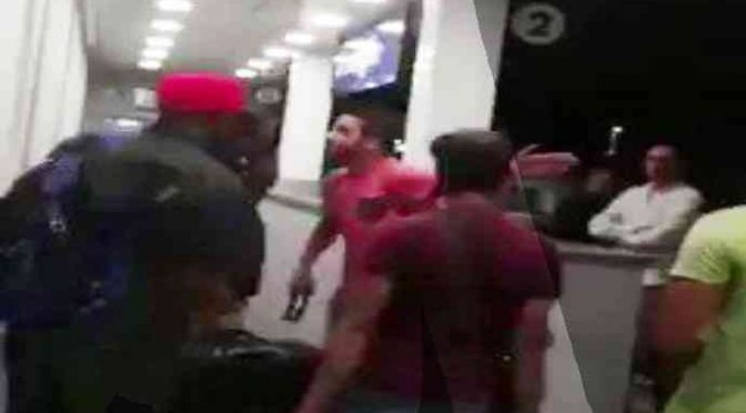 Stazione, migranti terrorizzano passeggeri – VIDEO