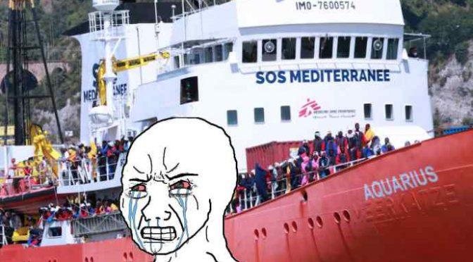 Sequestrata Aquarius: MSF scaricava in Italia rifiuti infetti, 24 tonnellate