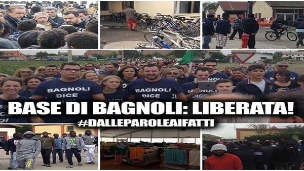 Bagnoli, centro profughi diventa centro sportivo per italiani