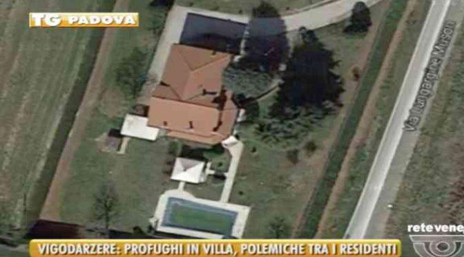 Profughi in villa con piscina, poi è arrivato Salvini – VIDEO