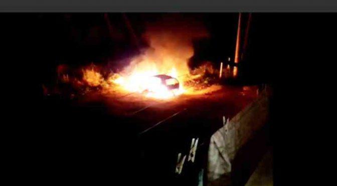 Profughi incendiano auto, ecco il VIDEO CHOC
