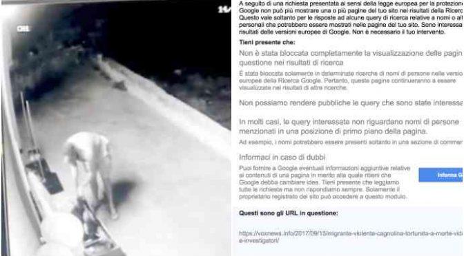 Migrante sodomizza cagnolina, la notizia che non dovete sapere