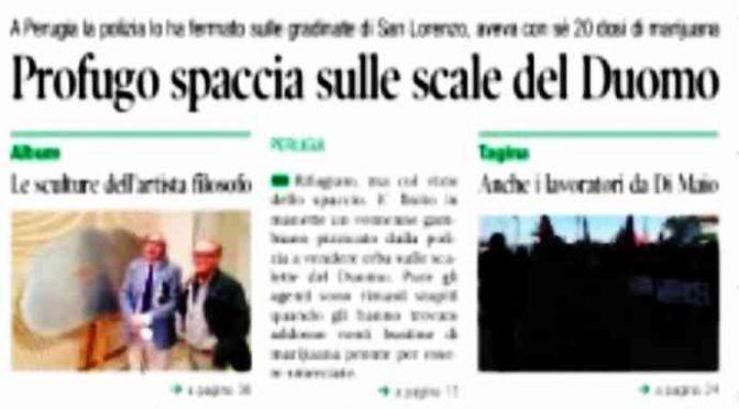 Profugo spaccia in chiesa, in Italia grazie a ricorso