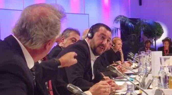 """Salvini liquida Asselborn: """"E' stato volgare"""" – VIDEO"""