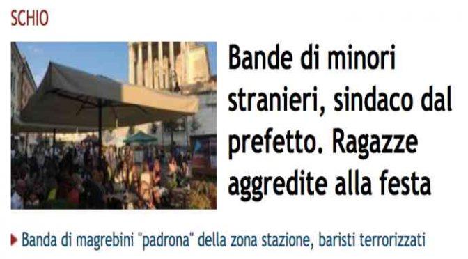 Bande di minorenni immigrati a caccia di ragazze italiane