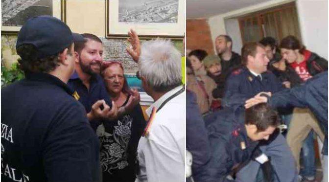 """Pompieri rifiutano di sfrattare anziane per fare posto: """"Basta"""""""
