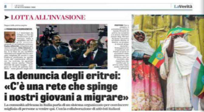 La confessione degli Eritrei: «Vostri attivisti ci spingono a venire in Italia»