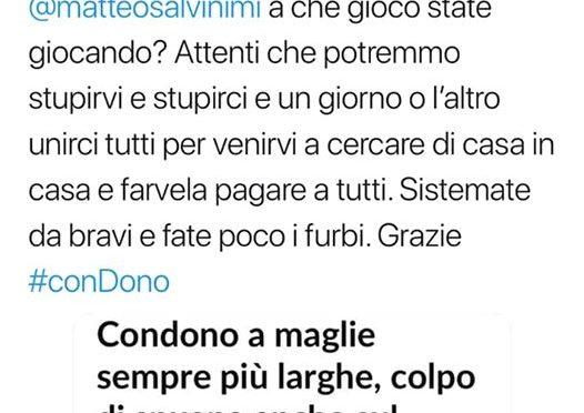 """Chef Rubio minaccia Salvini: """"Ti veniamo a prendere a casa"""""""
