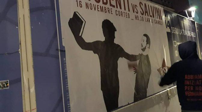 Estremisti rossi incitano al pestaggio di Salvini