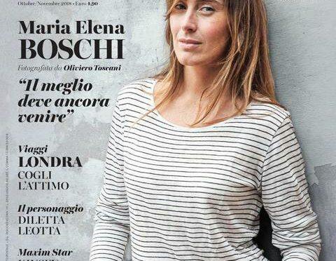 Maria Elena Boschi diventa modella per Toscani