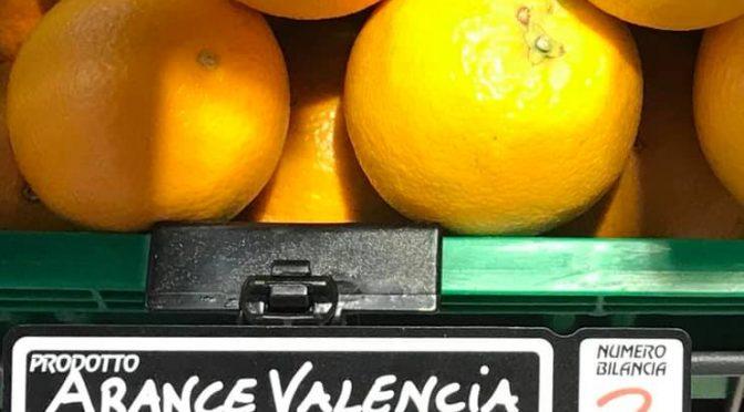 Sicilia: in vendita arance dello Zimbabwe