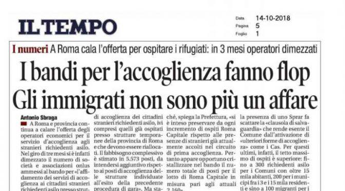 Salvini dimezza Mafia Capitale: fuga dall'accoglienza