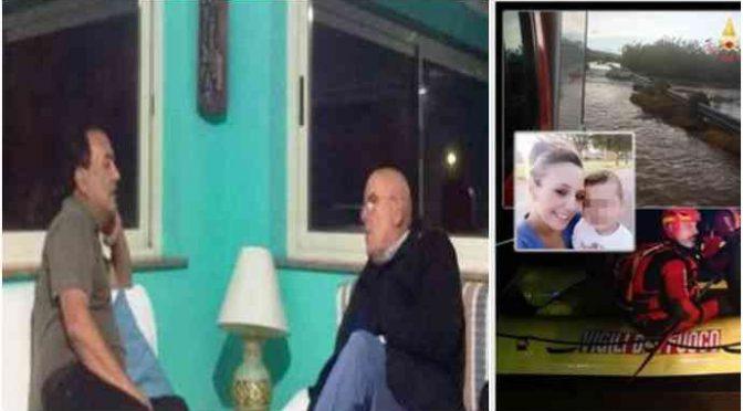Calabria piange i morti: governatore PD a casa di Lucano – FOTO