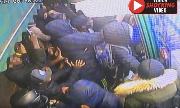 100 piccoli immigrati assaltano supermercato – VIDEO