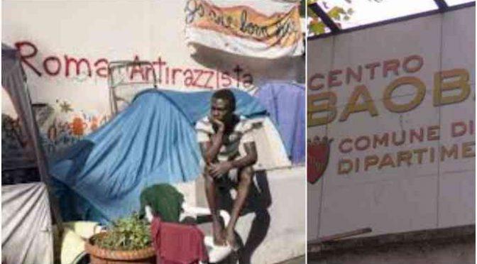 """Baobab, cittadini ringraziano Salvini: """"Finalmente, ora fermati i vertici"""""""