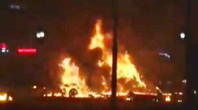 Incendio distrugge baraccopoli assassino Desirée
