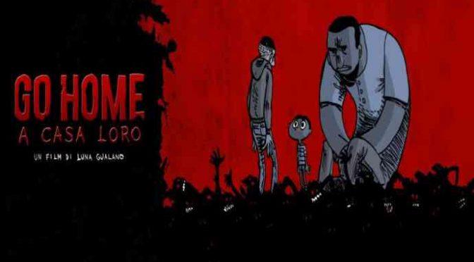 Filmino propaganda: migranti difendono Italia da zombie leghisti