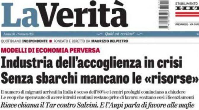 """I porti chiusi affondano Mafia Capitale: """"Accoglienza"""" in crisi"""