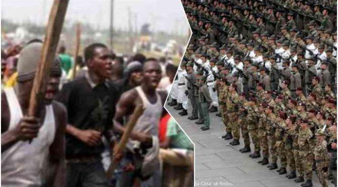 CastelVolturno: FN chiede rastrellamento mafiosi nigeriani