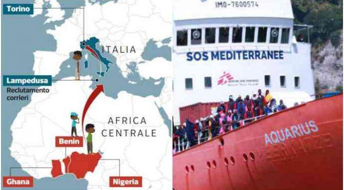 Mafia nigeriana, blitz in tutta Italia