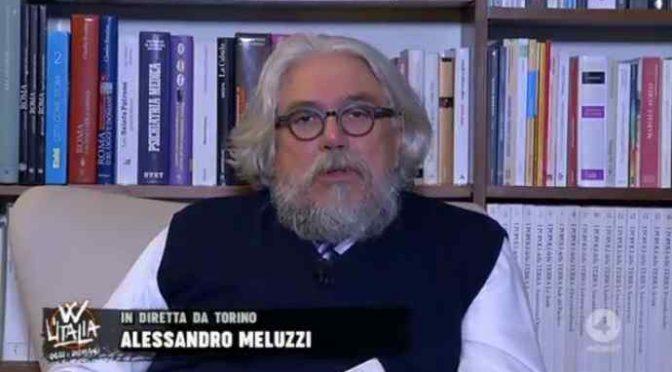 Meluzzi accusa i silenzi di Papa e Mattarella – VIDEO