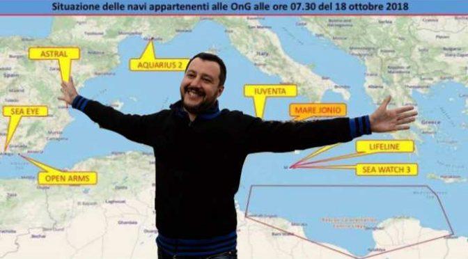 Navi Ong in fuga dall'Italia: stiamo vincendo la guerra