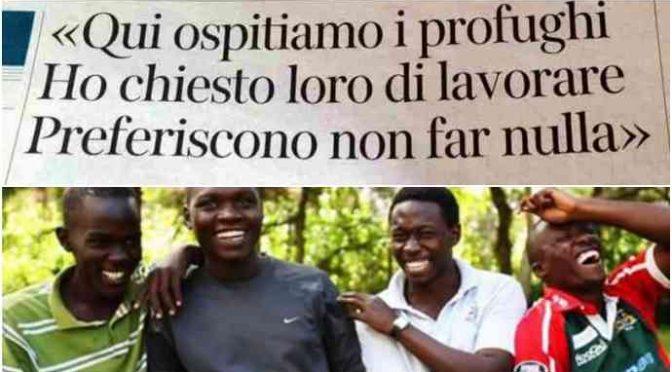 Istat conferma: migranti vengono in Italia a farsi mantenere