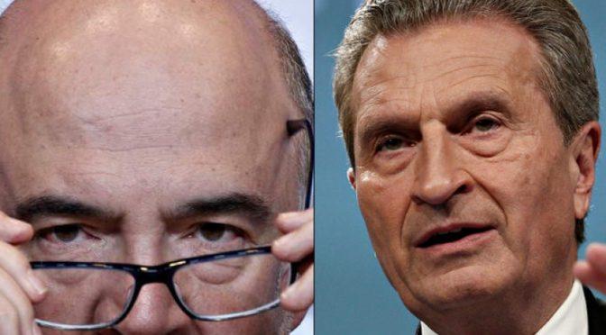 «Spread manipolato per annichilire Italia»: sotto accusa due commissari UE
