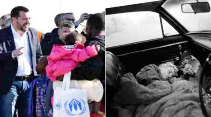 Bimbi italiani dormono in auto a Firenze: niente volo umanitario