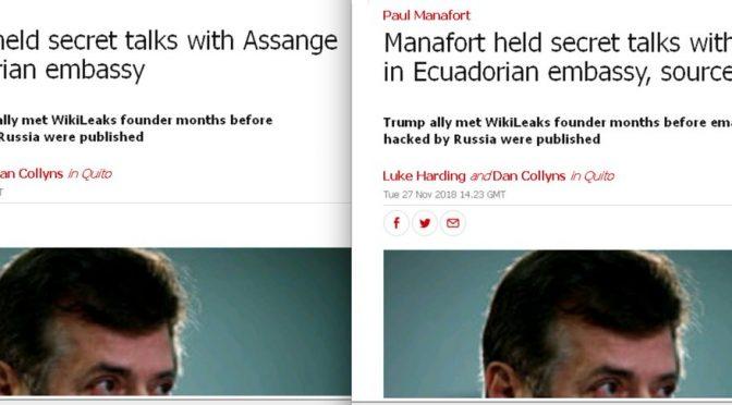 Falsa notizia incontro tra Assange e Manafort, Guardian ritratta