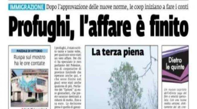 Decreto Salvini, inizia fuga dall'accoglienza: «Ci tiriamo indietro»