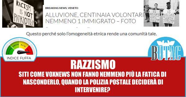 Per gli estremisti di Butac volere un'Italia italiana è 'razzismo'