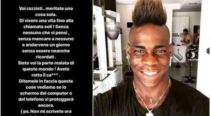 """Balotelli contro chi lo critica: """"Siete razzisti"""""""