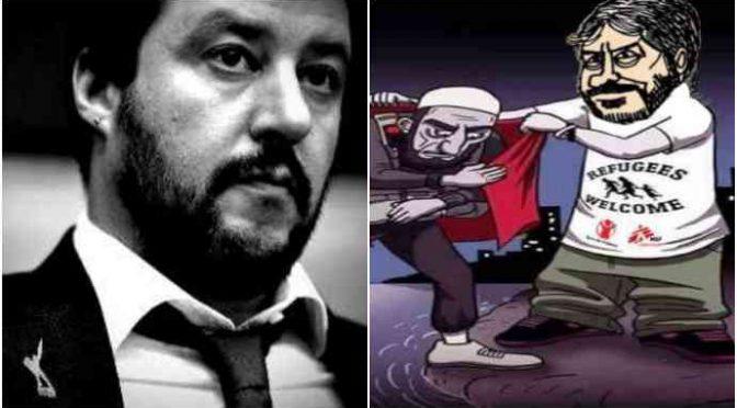 """Fico rovina la Festa del 2 Giugno: """"Dedicata a clandestini e Rom"""", Salvini: """"Offende i nostri Caduti"""""""