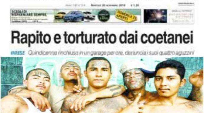 Ius Soli, presa baby-gang di immigrati che massacrava italiani: capo è uno stupratore di 15 anni, in galera ritrova il padre