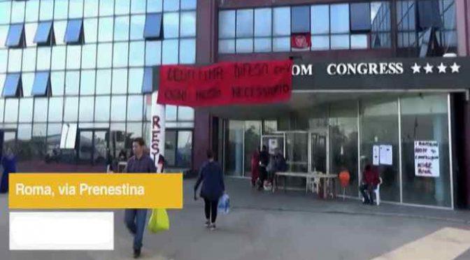 Immigrati vogliono vivere in hotel 4 stelle – VIDEO