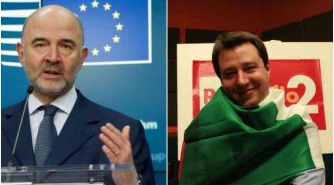 Moscovici: Francia può sforare, Italia no