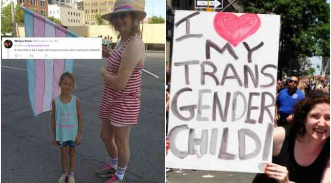 Mamma veste figlio da bambina, padre perde custodia perché protesta