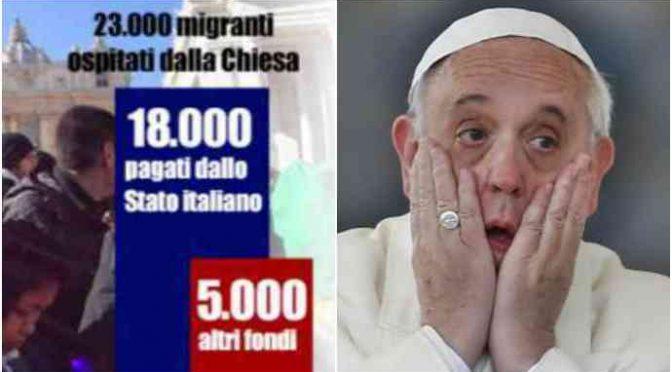 Decreto Salvini farà perdere al Vaticano 190milioni di euro
