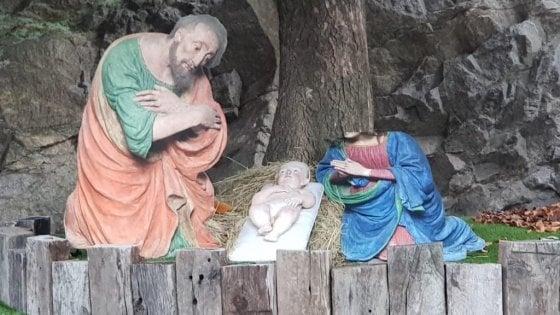 Inizia: decapitata madonna nel Presepe a Vercelli