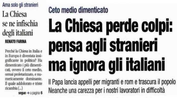 L italia smarrisce il senso del sacro e si riduce il for Numero dei parlamentari in italia