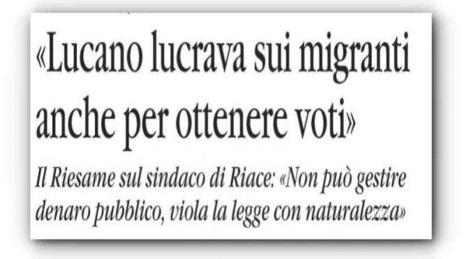 Lucano, assunzioni nel business immigrati in cambio di voti – VIDEO