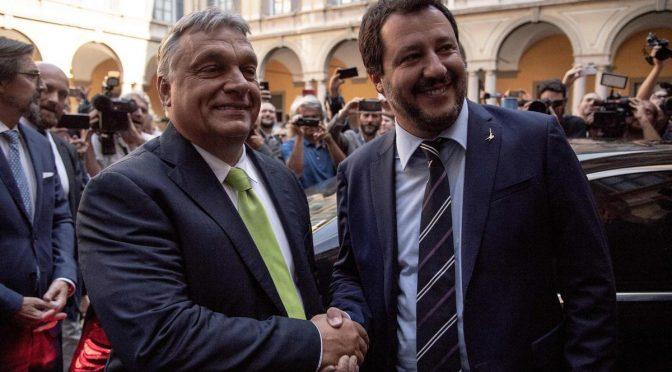 """Orban saluta 'assoluzione' Salvini: """"Siamo con te nella giusta battaglia"""""""