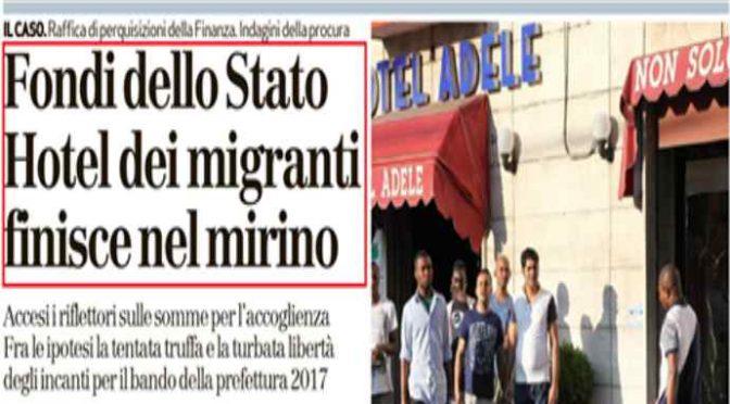 Non c'è più il Pd, raffica di perquisizioni per hotel profughi