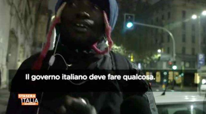 "Africani delusi: ""Italia ci deve mantenere"" – VIDEO"