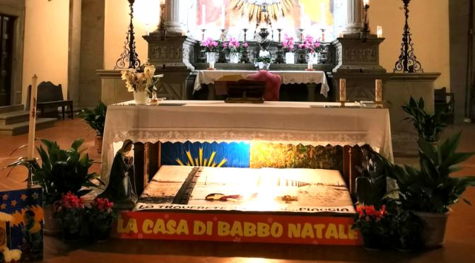 Arezzo, Gesù Bambino sostituito da feticcio immigrato