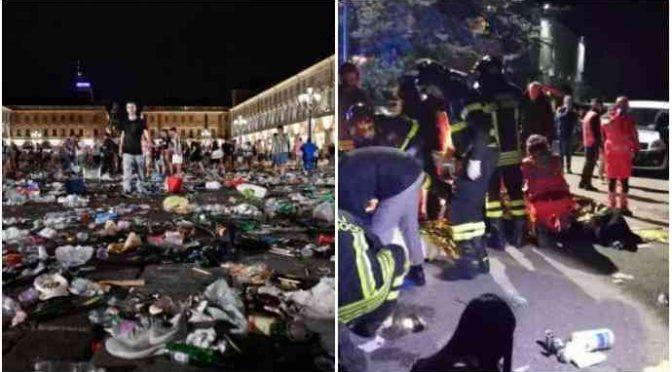 """Corinaldo come Torino: """"Banda di immigrati che deruba ragazzini"""""""