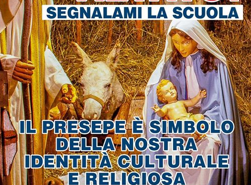 Il call center dove denunciare i presidi anti-Presepe