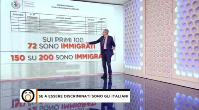 Gli immigrati si prendono tutto: case e soldi,dati choc – VIDEO